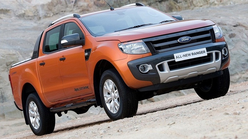 """Ford Ranger """" Vua bán tải """" nhập từ Thái Lan"""