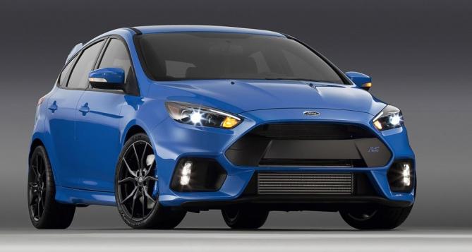 Focus RS mới không hề kém cạnh các mẫu xe cao cấp hơn xét trên bình diện công suất