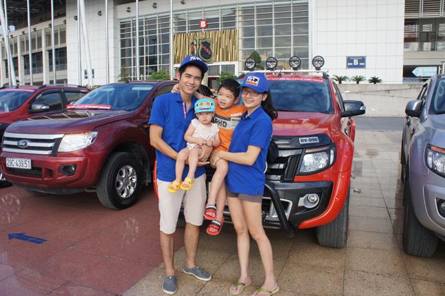 Ranger - một chiếc bán tải dành cho gia đình trẻ năng động