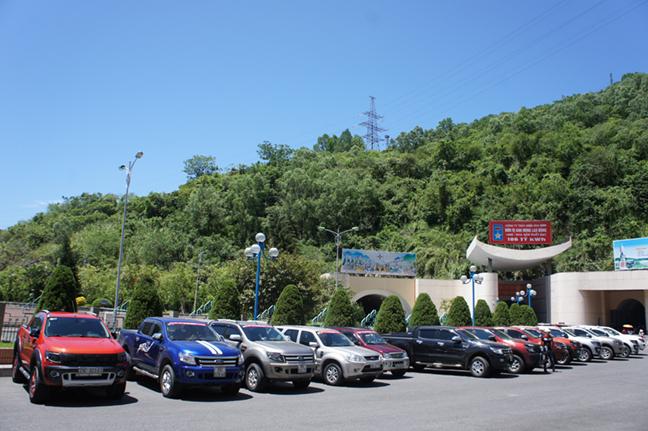 Đoàn quân Ranger đổ bộ về Nhà máy Thủy điện Hòa Bình.